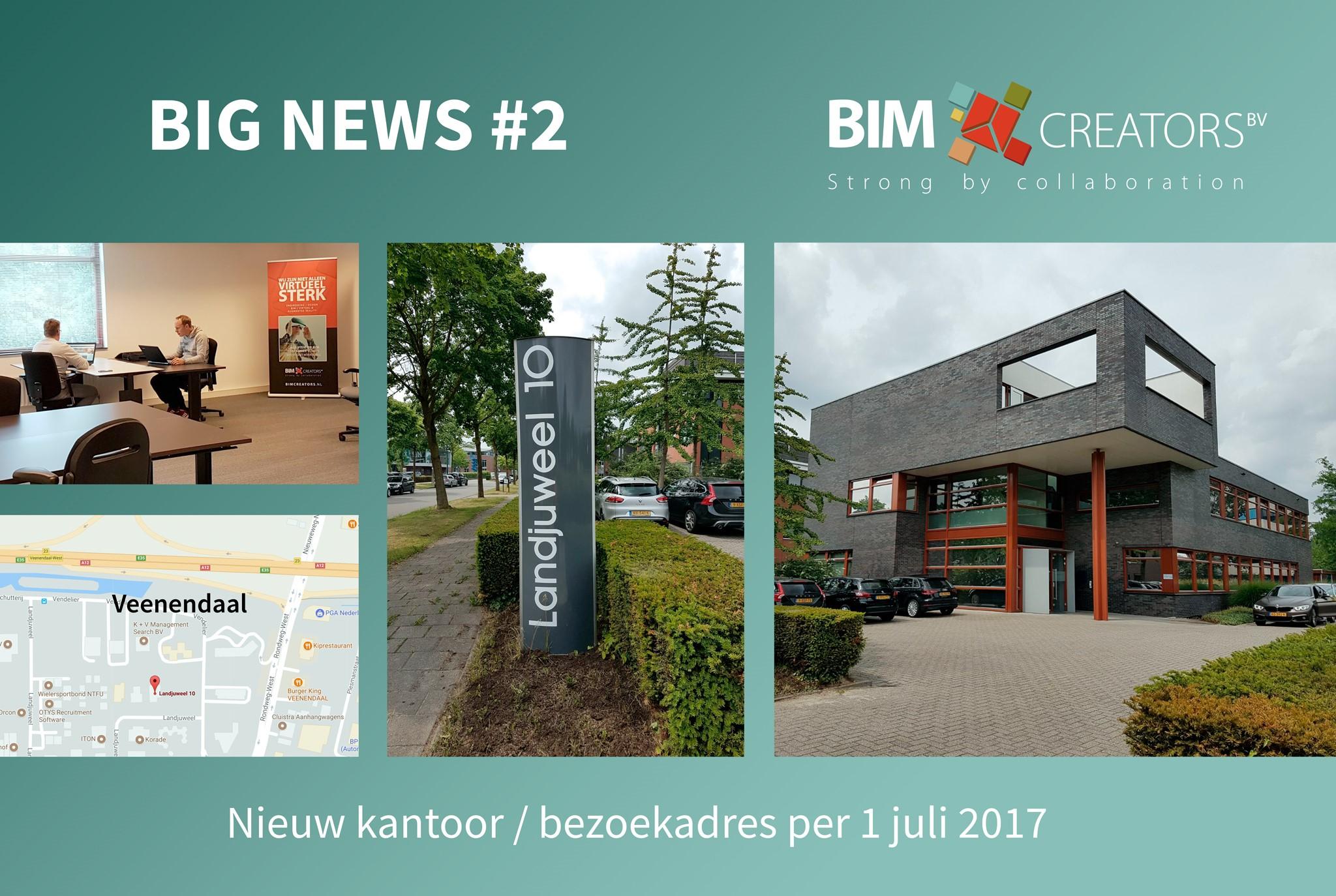 Nieuw Kantoor BIM Creators