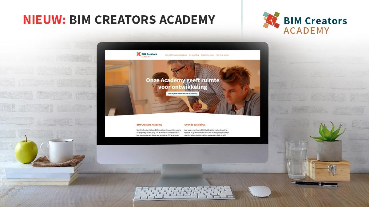 Op 25 mei gaat de BIM Creators Academy van start