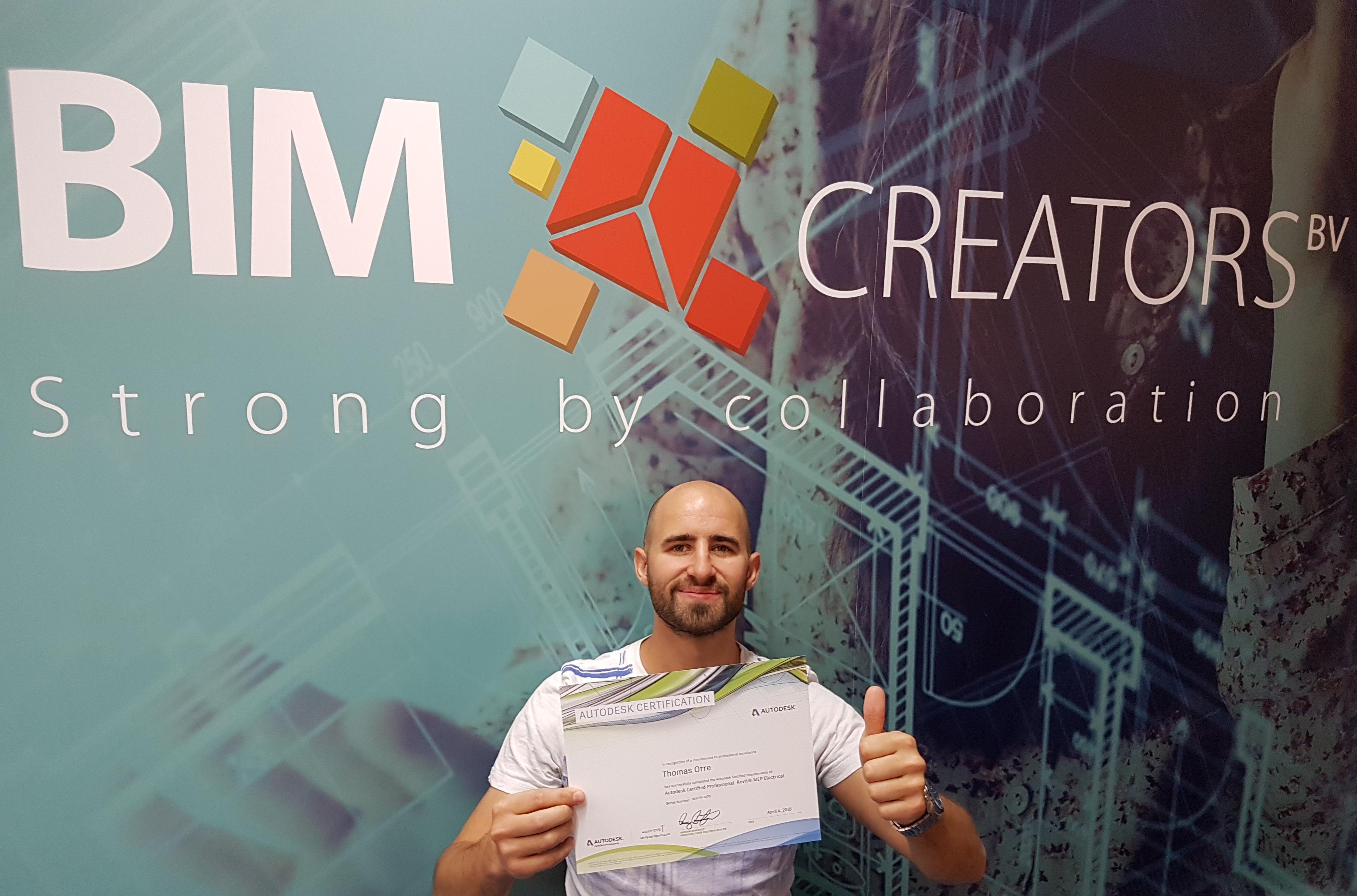 Thomas Orré trotse Autodesk Certified Professional