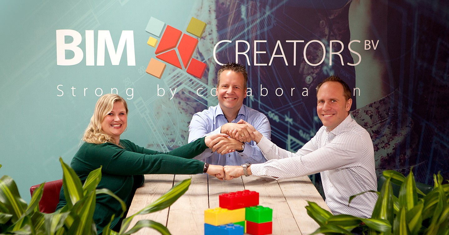 3D modellen – 3Directieleden: BIM Creators is in evenwicht